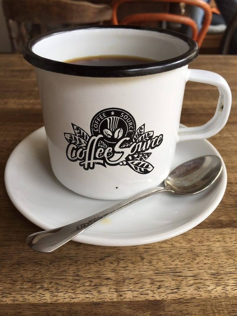 Coffee Source cafe in Prague