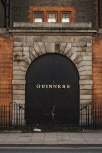 Guiness factory in Dublin