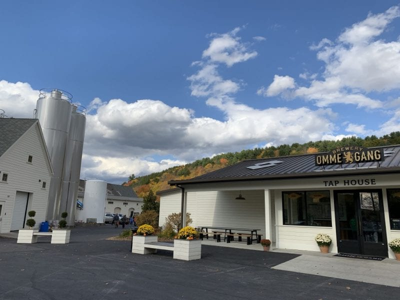 Brewery Ommegang has a great venue in nestled between rolling hills.