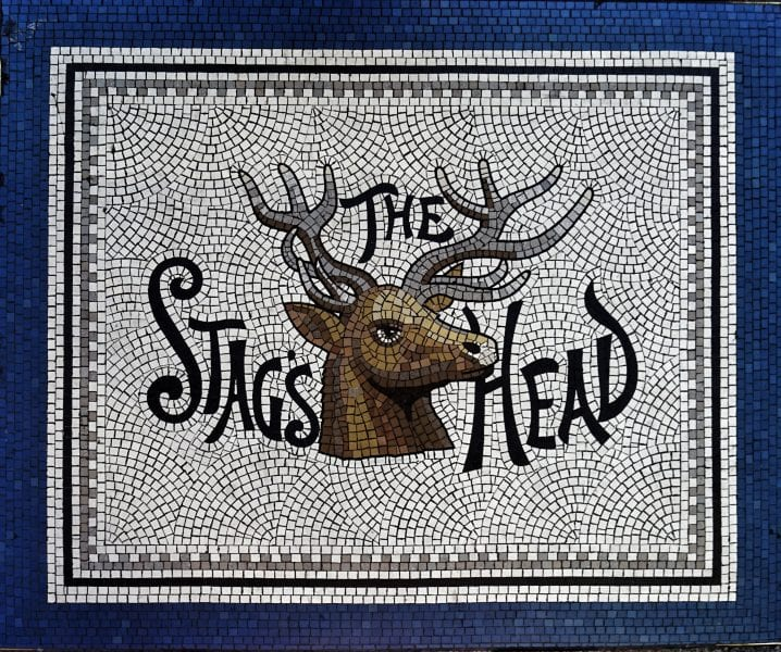 The Stag's Head in Dublin