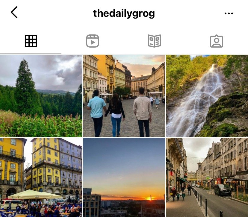 Instagram travel bloggers